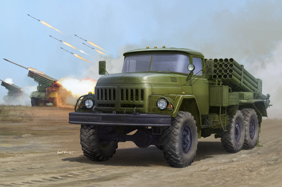 Russian 9P138 Grad-1 on Zil-131
