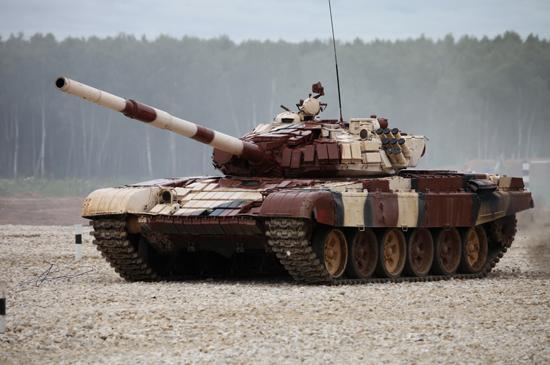 Russian T-72B1 MBT(w/kontakt-1 reactive amor)