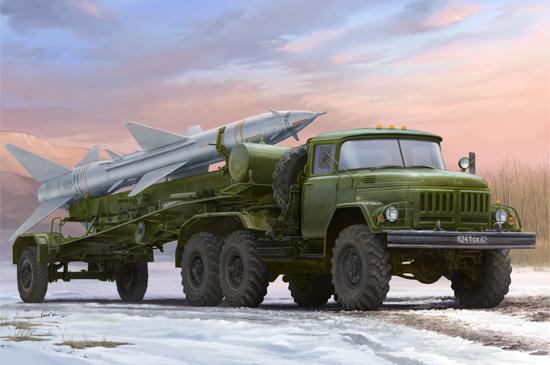 Russian Zil-131V towed PR-11 SA-2 Gudeli