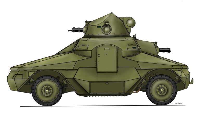 ŠKODA PA-III CS version full resin kit