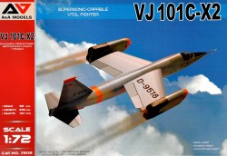 VJ101C-X2 Supersonic-Capable VTOL Fighter