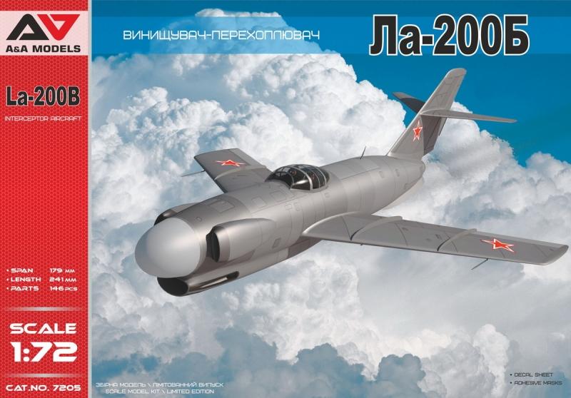 LA-200B All-weather experimental interceptor