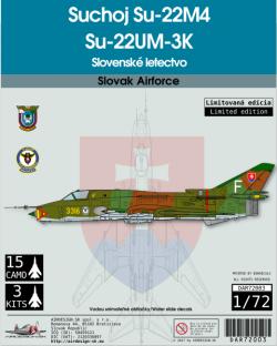 Suchoj SU-22M4 SU-22UM3-K Slovenské letectvo