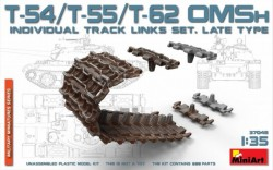 T-54/T-55/T-62 OMSh Individual Track Links Set.late Type