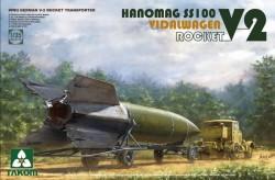V-2 ROCKET+ VIDALWAGEN + HANOMAG SS100