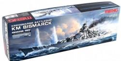 Kriegsmarine Battleship KM Bismarck