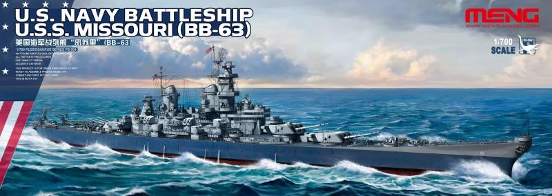 U.S. Navy Battleship U.S.S. Missouri (BB-63)