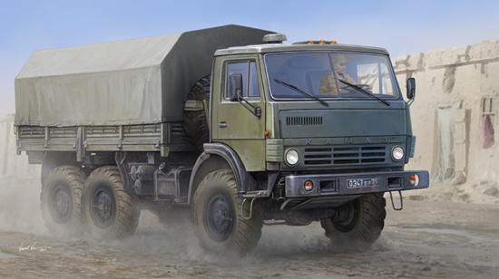 Russian KAMAZ 4310 Truck