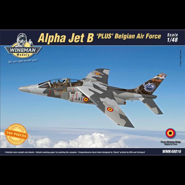 "Dornier Alpha Jet B ""Plus"" Belgian Air Force"