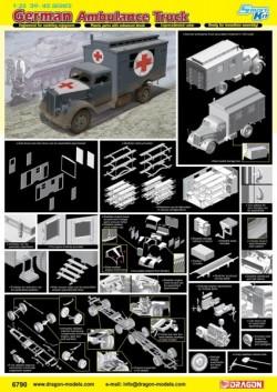 German Ambulance Truck