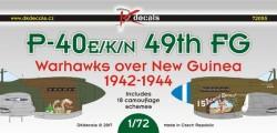 P-40E/K/N - 49th FG over New Guinea 1942-1944