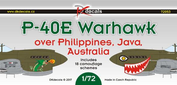 P-40E over Philippines, Java and Australia
