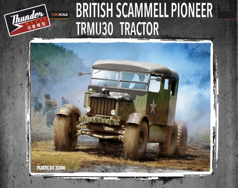 British Scammell Pioneer Tractor TRMU30