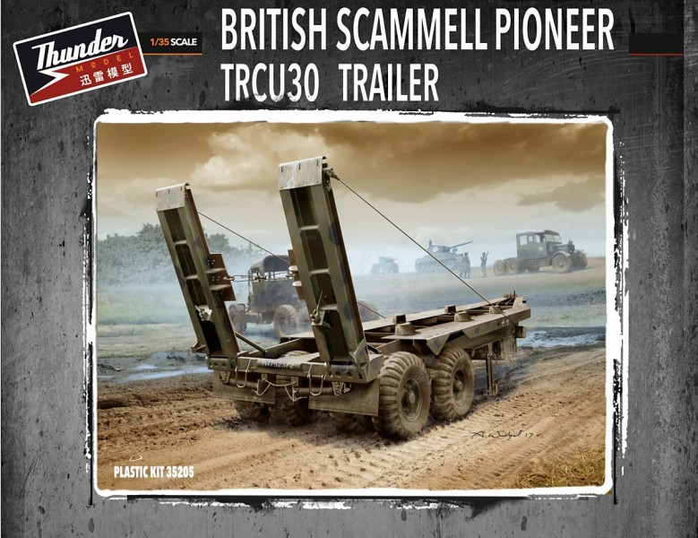British TRCU30 Trailer 30t