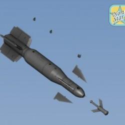 BGL-1000 French bomb (2 pcs in a set)
