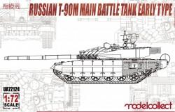 Russian T-90M Main battle tank early type