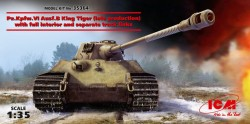 Pz.Kpfw. VI Ausf.B King Tiger late productioen with full interior