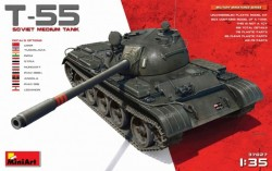 T-55 Soviet Medium Tank