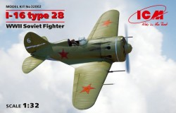 I-16 type 28, WWII Soviet Fighter
