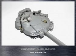 "T-72A(M1) m1982 Turret  ""Dolly Parton""  includes  PE parts"