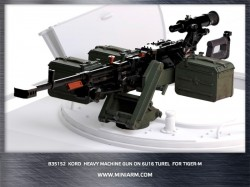 Kord 12,7mm Heavy machine gun on 6U16 turel  for GaZ Tiger-M (SOF)