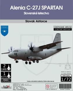 Alenia C-27J Spartan Slovenské letectvo