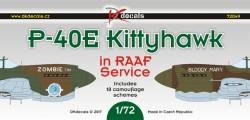 P-40E Kittyhawk in RAAF Service