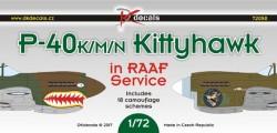P-40K/M/N Kittyhawk in RAAF Service