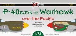 P-40E/F/K Warhawk over the Pacific