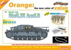 StuG.III Ausf.B + WEHRMACHT INFANTRY (w/Magic Track)