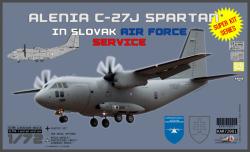 "Alenia C-27J Spartan Slovak Airforce Service ""Super kit series"""