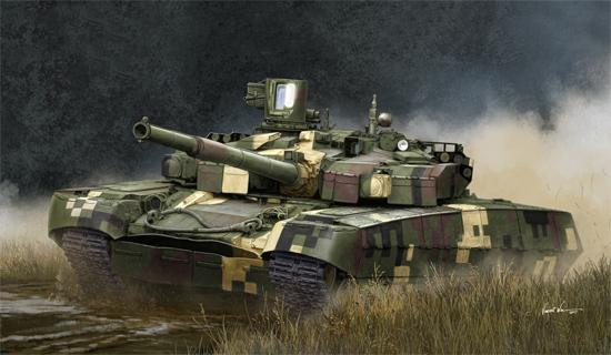 Ukrainian T-84BM Oplot MBT