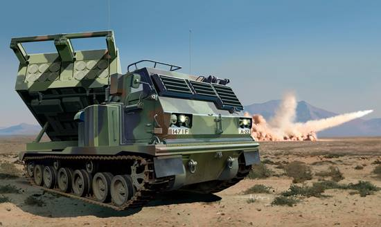 M270/A1 Multiple Launch Rocket System-US