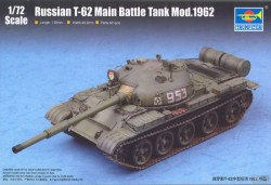 Russian T-62 Main Battle Tank Mod.1962
