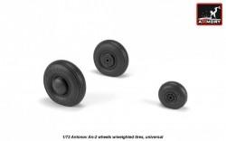 Antonov An-2/An-3 Colt wheels w/ weighted tires