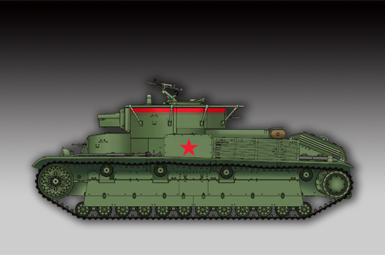 Soviet T-28 Medium Tank (Welded)