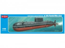 Project 685 Plavnik/Mike-class,Soviet nuclear powered submarine