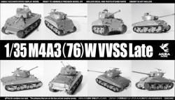 US Medium Tank M4A3 76mm Sherman with VVSS Late Type