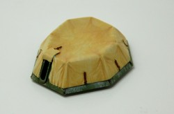 BA-64 turret with canvas cover