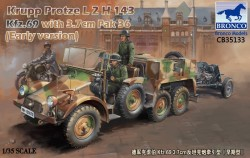 Krupp Protze Kfz.69 L 2 H 143 with 3.7cm Pak 36 (Early version)