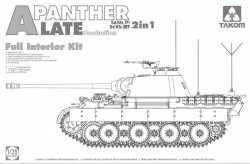 Panther Ausf.A late  prod. full Interior
