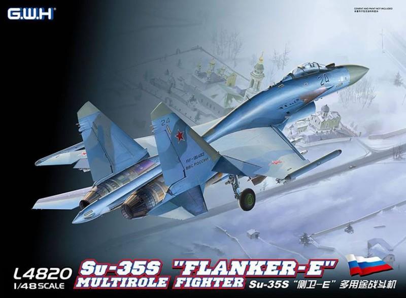 """SU-35S """"Flanker E"""" Multirole Fighter"""