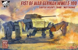 "Fist of War German WWII E-100 Supper Heavy Tank ""Nothung"""