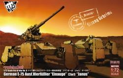 "Fist of War German WWII E-75 Ausf.Vierfubler ""Einauge""[2 in 1]""Janus"""