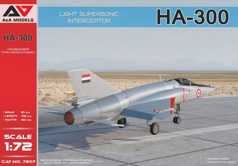 Light supersonic interceptor HA-300