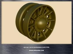 T-34/SU Idler wheels (late type)