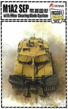 M1A2 SEP with Mine Clearing Blade System