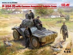 P 204(f) with German Armoured Vehicle Crew