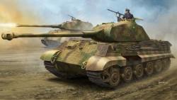 """German Sd.Kfz.182 King Tiger """"Porsche Turret"""" w/Zimmerit"""