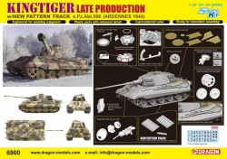Kingtiger Late Production w/New Pattern Track s.Pz.Abt.506 Ardennes 1944